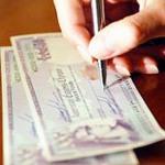 обналичить чек